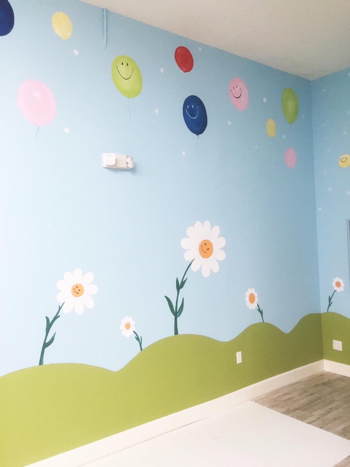 Childrens Bedroom Mural Artist Laroyalart 2