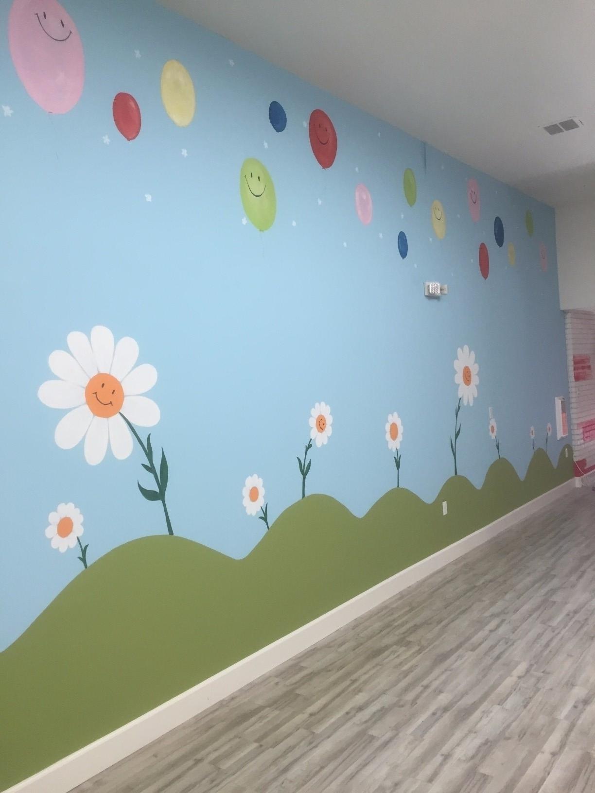 Childrens Bedroom Mural Artist Laroyalart 3