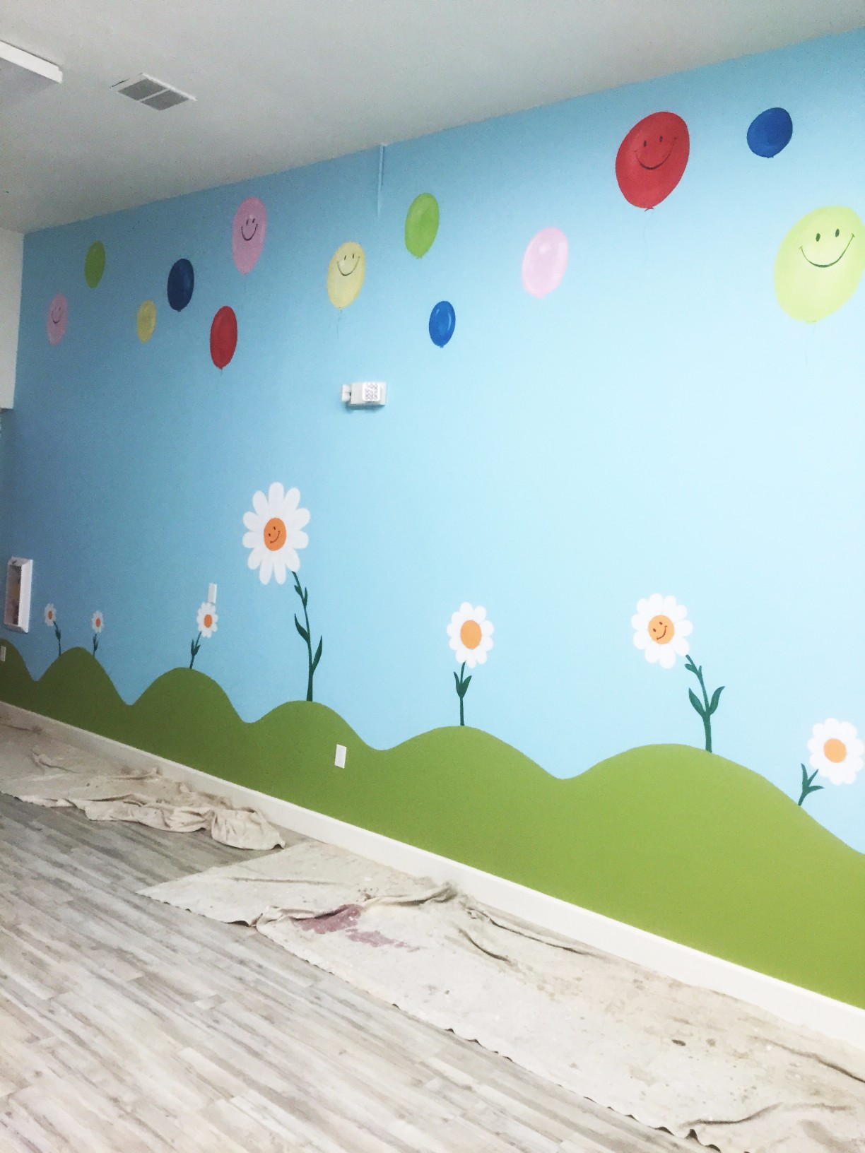 Childrens Bedroom Mural Artist Laroyalart