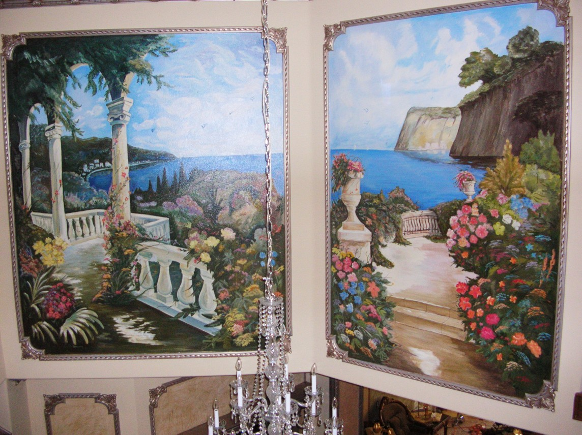 Hand Painted Wall Murals Los Angeles LARoyalartcom
