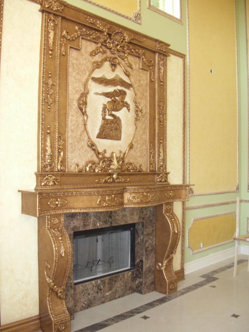 Los Angeles Handmade Ornamental Fireplace Specialist