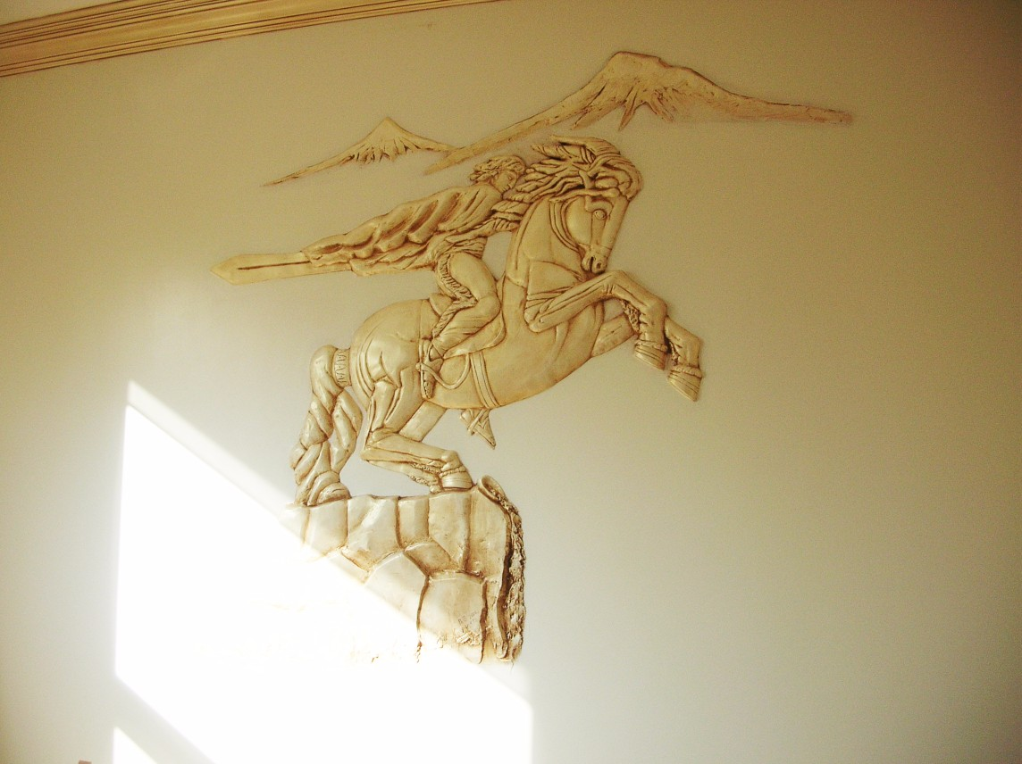 Los Angeles Wall Sculpture Art Plaster Specialist - LARoyalArt.com